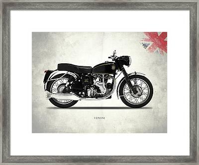 Velocette Venom 1960 Framed Print by Mark Rogan