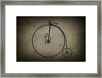 Velocipede Framed Print by Daniel Hagerman