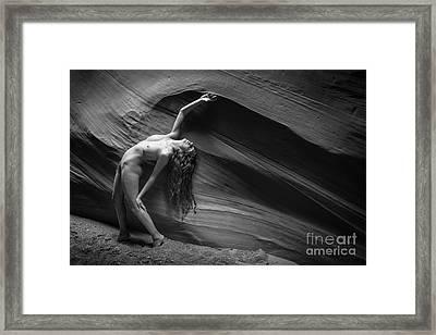 Velocity Framed Print by Inge Johnsson