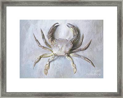 Velvet Crab Framed Print
