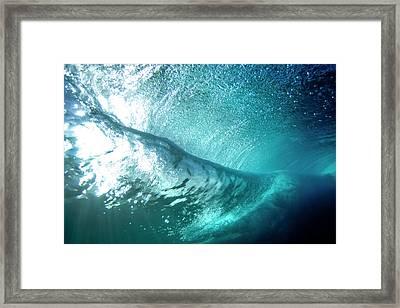 Velvet Fold Framed Print