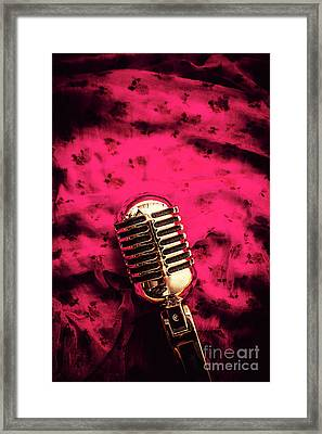 Velvet Jazz Show Framed Print by Jorgo Photography - Wall Art Gallery