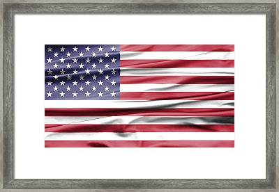 Velvet Usa Framed Print by Semmick Photo
