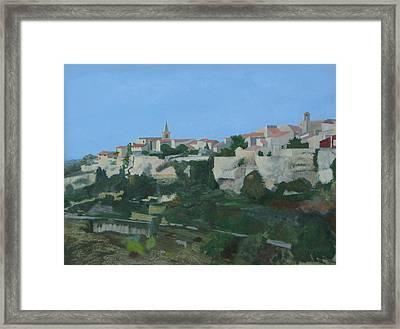 Venasque Framed Print by LJ Powers