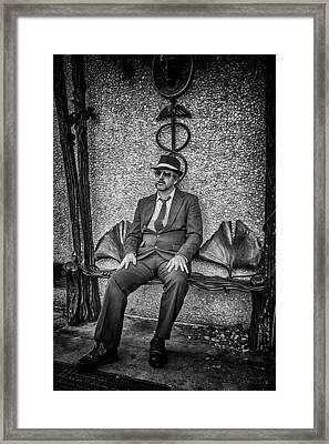 Vendredi Noir Framed Print by John Haldane