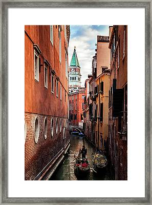 Venetian Alley Framed Print