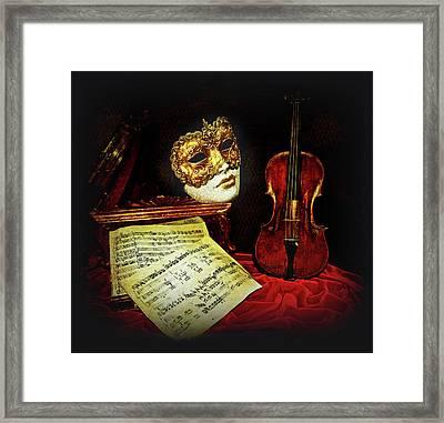 Venetian Baroque Musical Night Framed Print