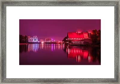 Venetian Bay On The Dnieper Framed Print