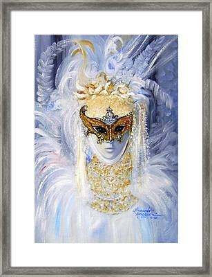 Venetian Beauty Framed Print