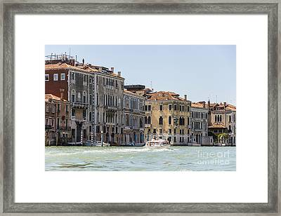 Venetian Buildings  Framed Print by Svetlana Sewell