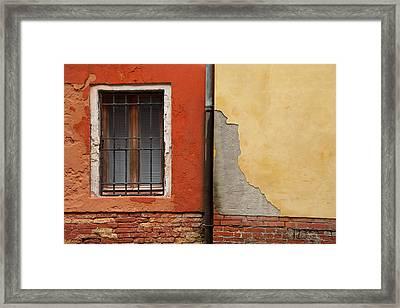 Venetian Colors 1 Framed Print by Art Ferrier