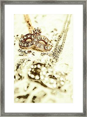 Venetian Crystal Style Framed Print by Jorgo Photography - Wall Art Gallery