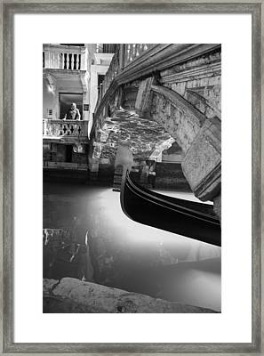 Framed Print featuring the photograph Venetian Daily Scene by Yuri Santin