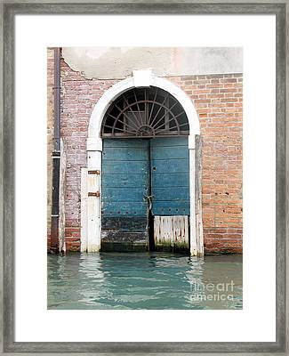 Venetian Door Framed Print