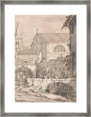 Venetian Fantasy  Framed Print