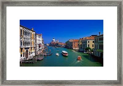 Framed Print featuring the photograph Venetian Highway by Anne Kotan