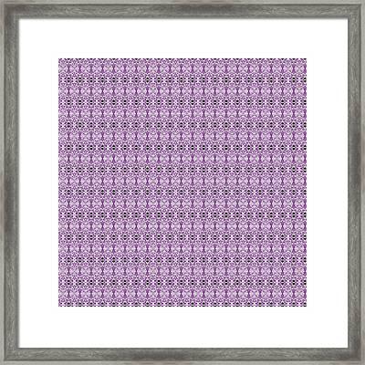 Venetian Lace Framed Print