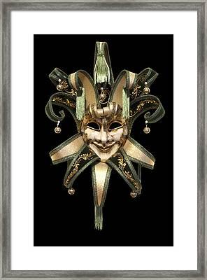 Venetian Mask Framed Print