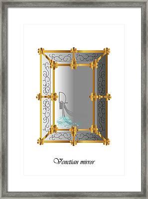 Venetian Mirror Framed Print