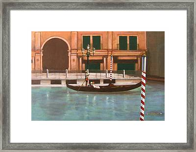 Venetian Number Two Framed Print by Howard Stroman