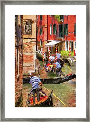 Venetian Red Framed Print