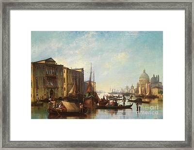 Venetian Scene Framed Print