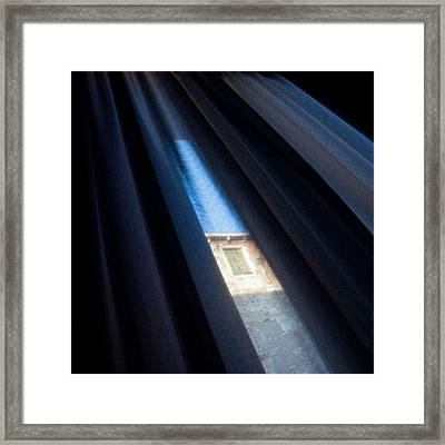 Venetian Square Framed Print by Dave Bowman
