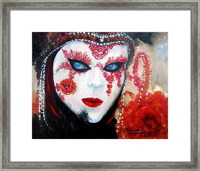 Venetian Tigress Framed Print by Leonardo Ruggieri