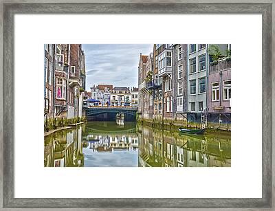Venetian Vibe In Dordrecht Framed Print