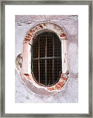 Venetian Window Framed Print