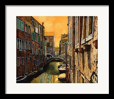 Canals Paintings Framed Prints