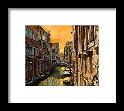 Canal Framed Prints