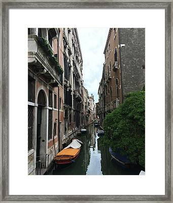 Venezia Beauty Framed Print by Brianna Culbertson
