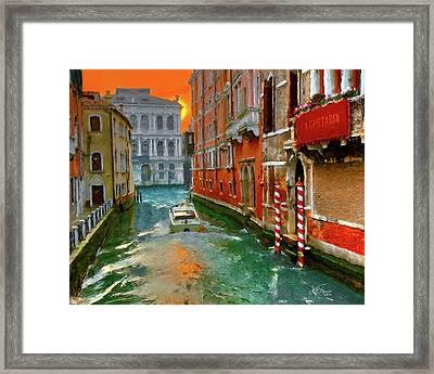 Venezia. Ca'gottardi Framed Print