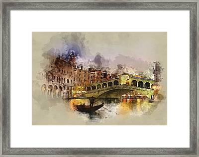 Venezia, Canal Grande Framed Print