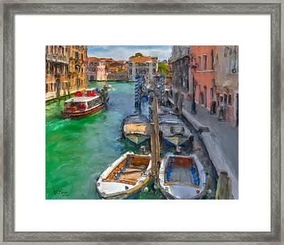 Venezia. Cannaregio Framed Print