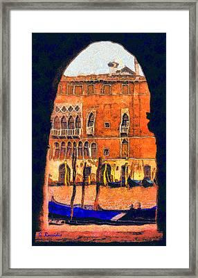 Venezia Framed Print by George Rossidis
