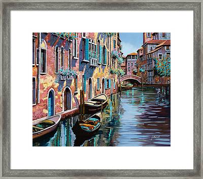 Venezia In Rosa Framed Print