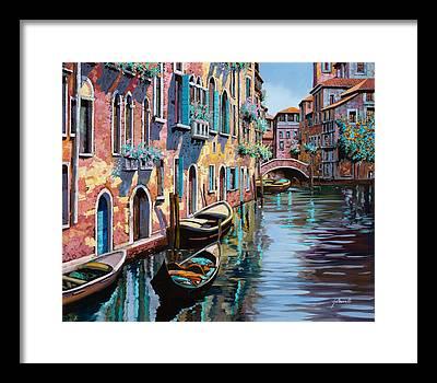 Bridge Paintings Framed Prints