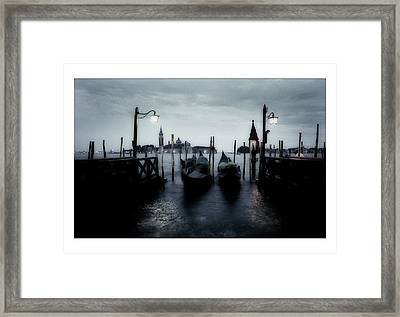 Venice - Italy Framed Print by Marco Hietberg