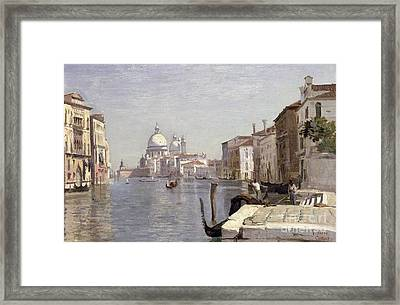 Venice - View Of Campo Della Carita Looking Towards The Dome Of The Salute Framed Print