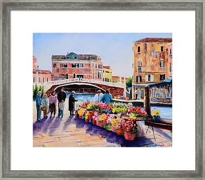 Venice 11 Framed Print