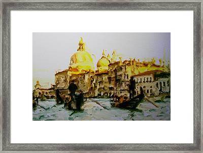 Venice 12a Framed Print