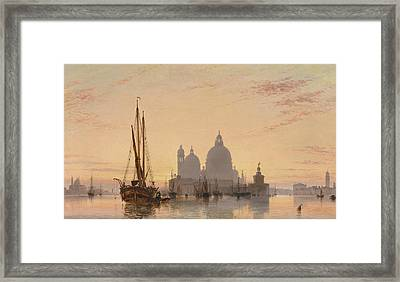Venice, 1851 Framed Print