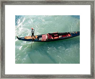 Venice-4 Framed Print