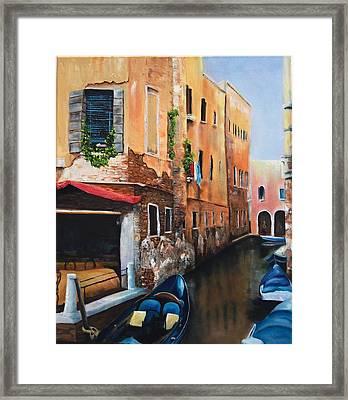 Venice 7 Framed Print