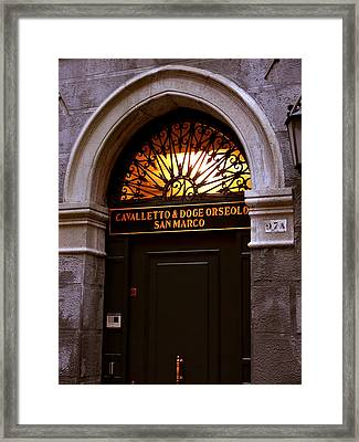 Venice-8 Framed Print by Valeriy Mavlo