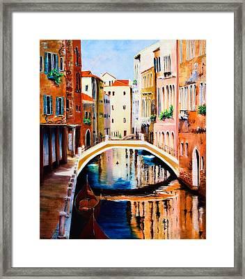 Venice 9 Framed Print
