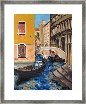 Venice Afternoon Framed Print