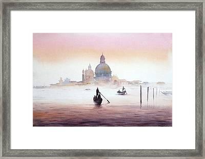 Venice At Early Morning Framed Print
